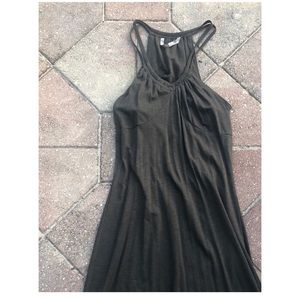 Athleta dress with built in bra size S Army green